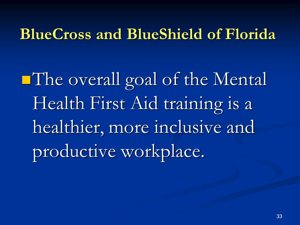 Mental Health First Aid In The Workplace Ppt Download