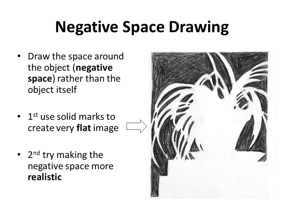 Negative Space Drawing