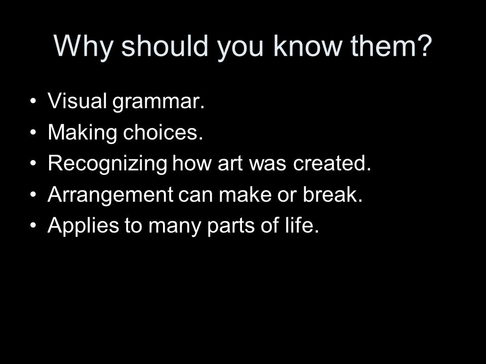 the elements and principles of art ppt video online download