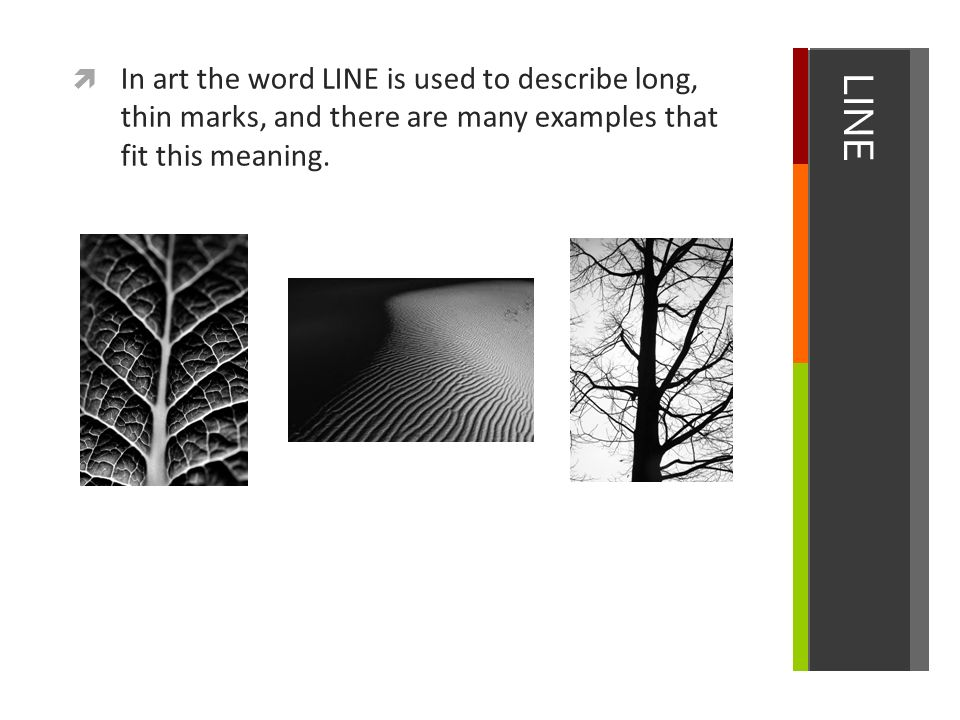 Line The Art Element : Line element of art. ppt video online download