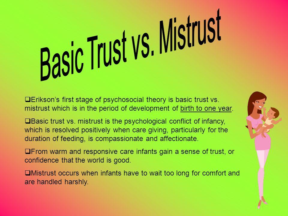 trust vs mistrust definition