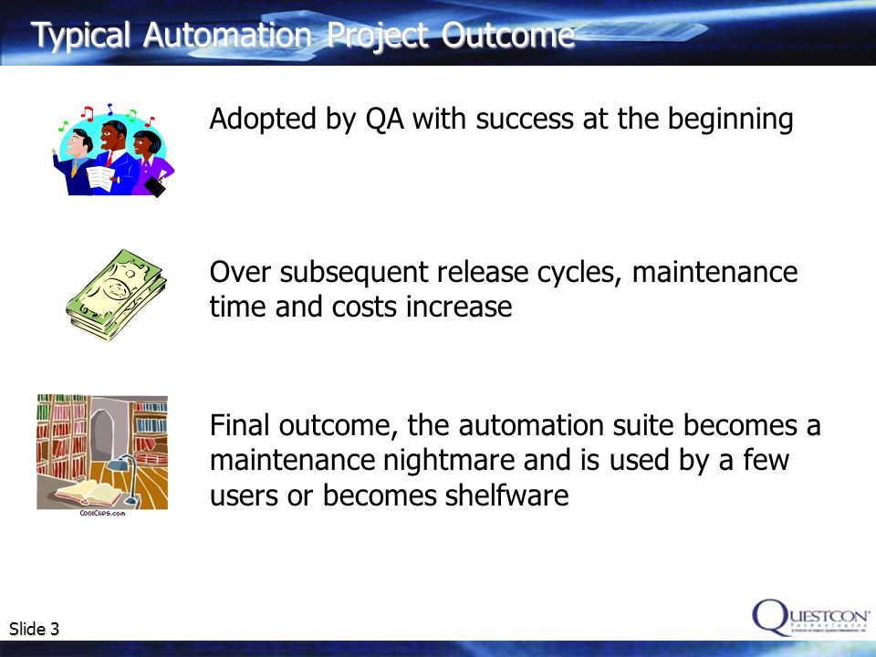 Typical Automation Project Outcome