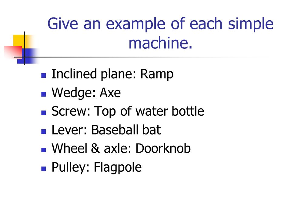 Chapter 4 Work Simple Machines Ppt Video Online Download
