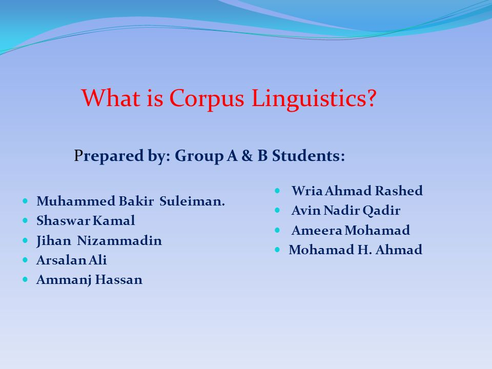 Introduction to corpus linguistics ppt video online download.