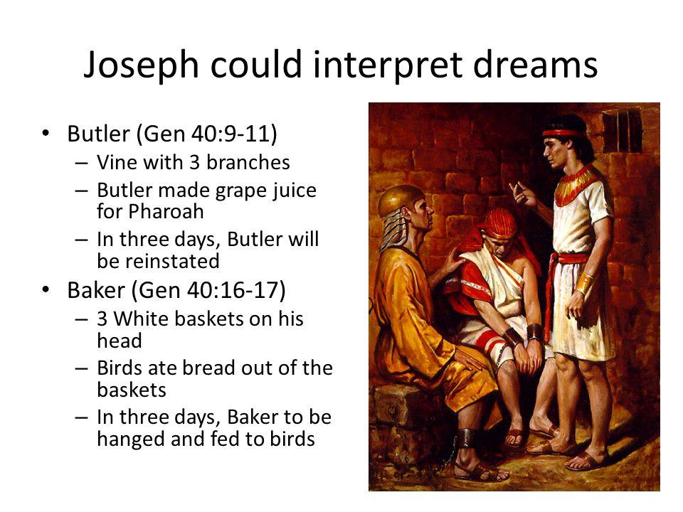 Joseph Could Interpret Dreams