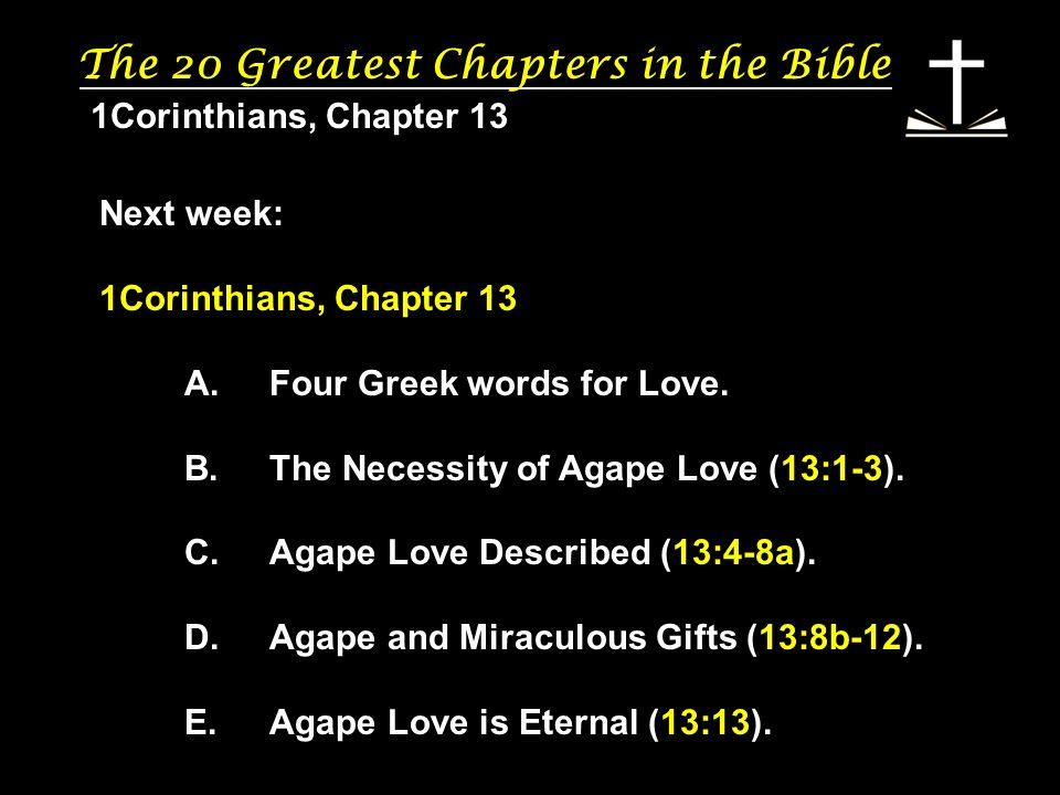 love described in the bible