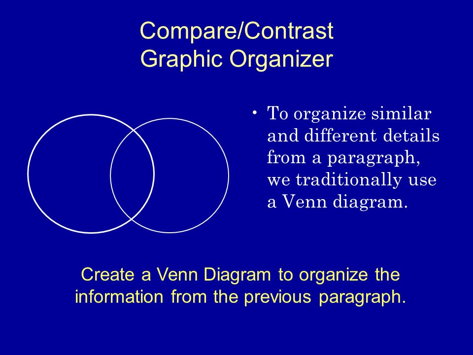 Introduction To Comparecontrast Text Structure Ppt Video Online