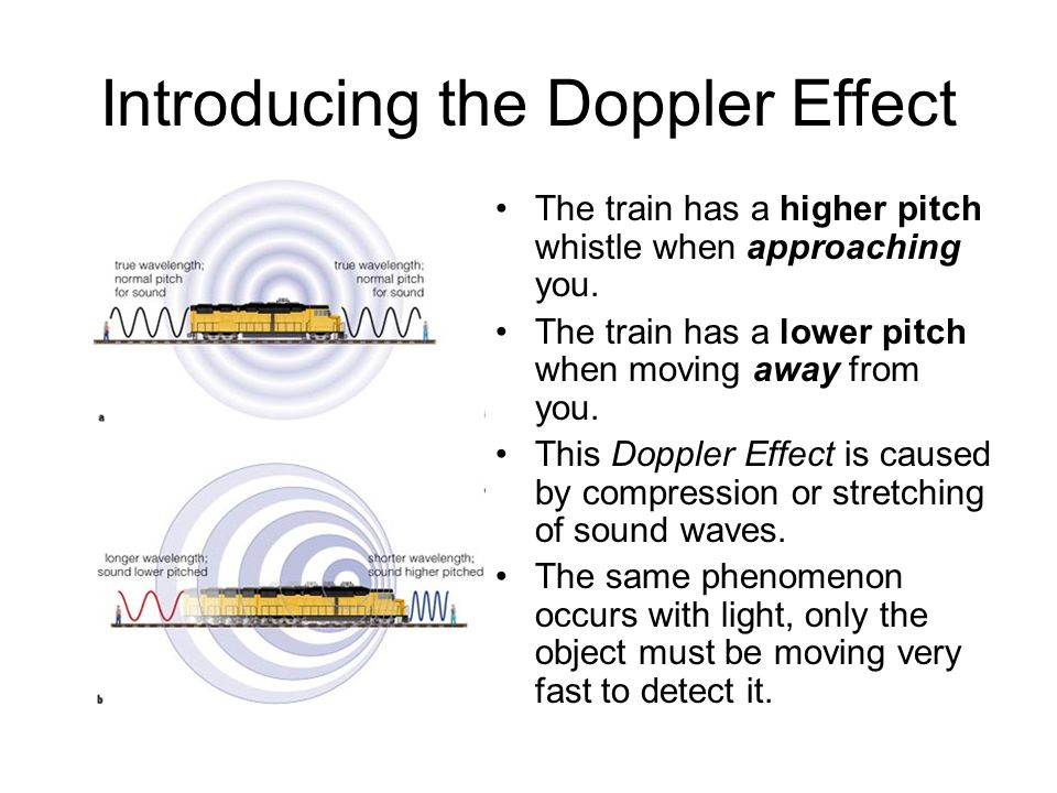 Introducing the Doppler Effect