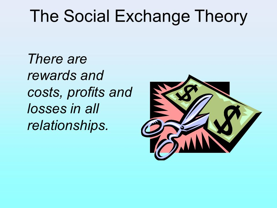 The Social Exchange Theory