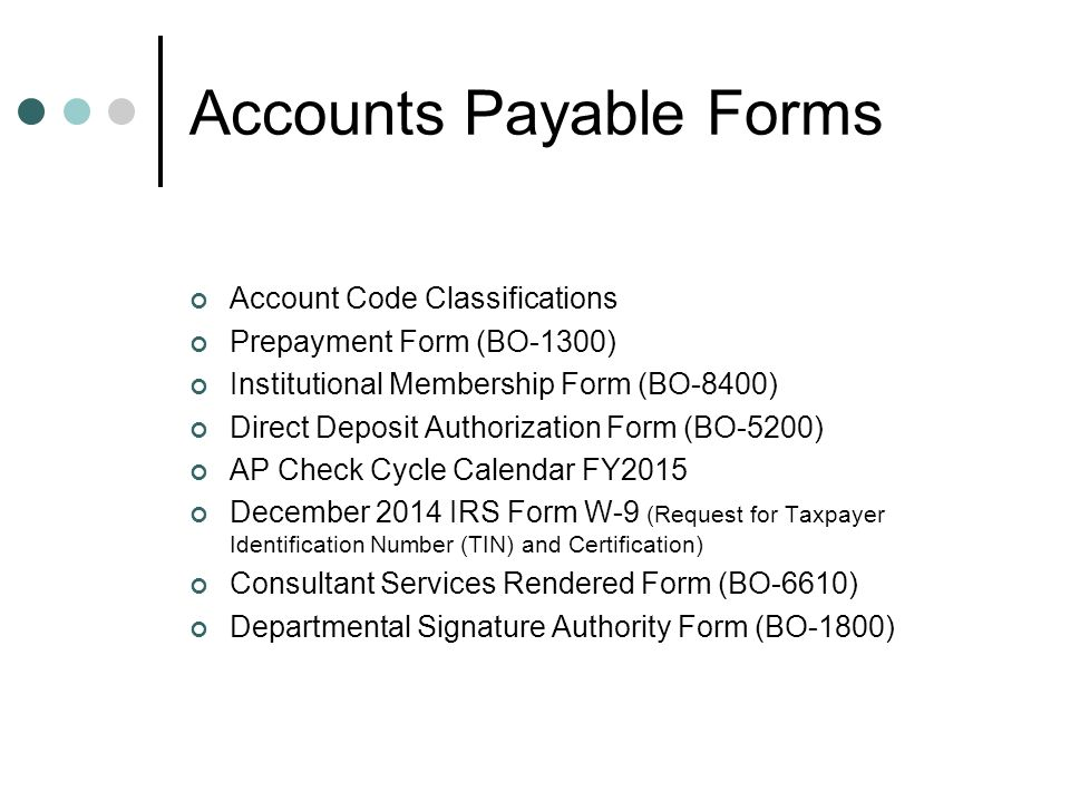 Accounts Payable Procedure Updates - ppt download