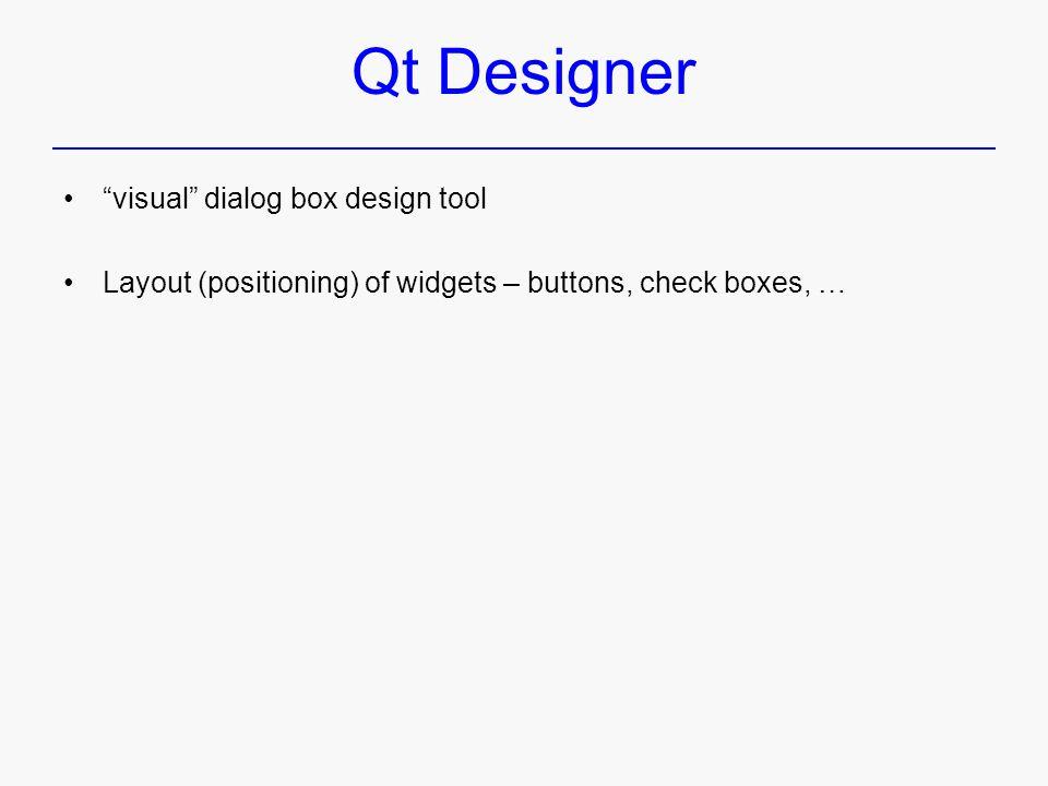Qt – Introduction C++ GUI Programming with Qt 3 - ppt download