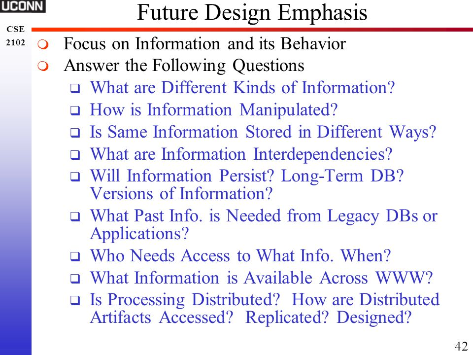 Future Design Emphasis
