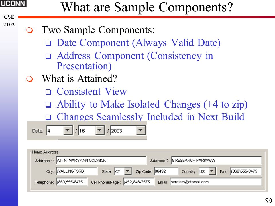 What are Sample Components