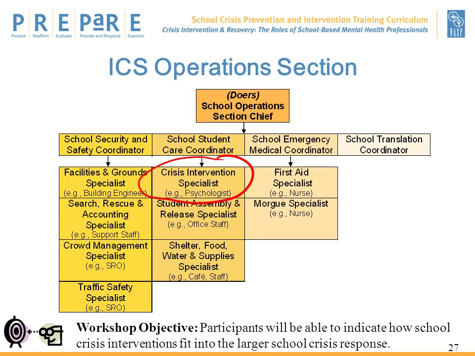 ICS Operations Section
