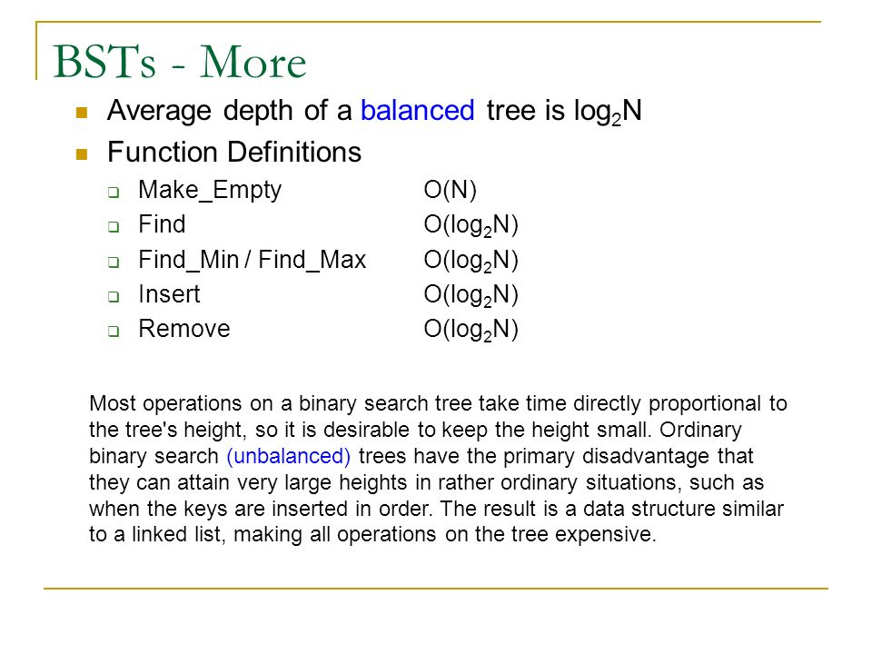 Binary Trees Michael R  Wick - ppt video online download