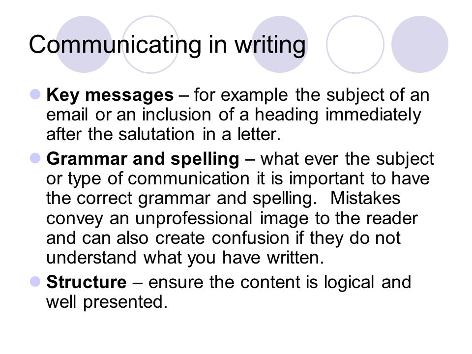 the techniques of effective written communication Techniques of effective writing uploaded by chiku samantaray the five cs of effective writing your readermust be able to see exactly what you mean so your 5 being courteous the following five aspects of your communication will help you incorporate a.