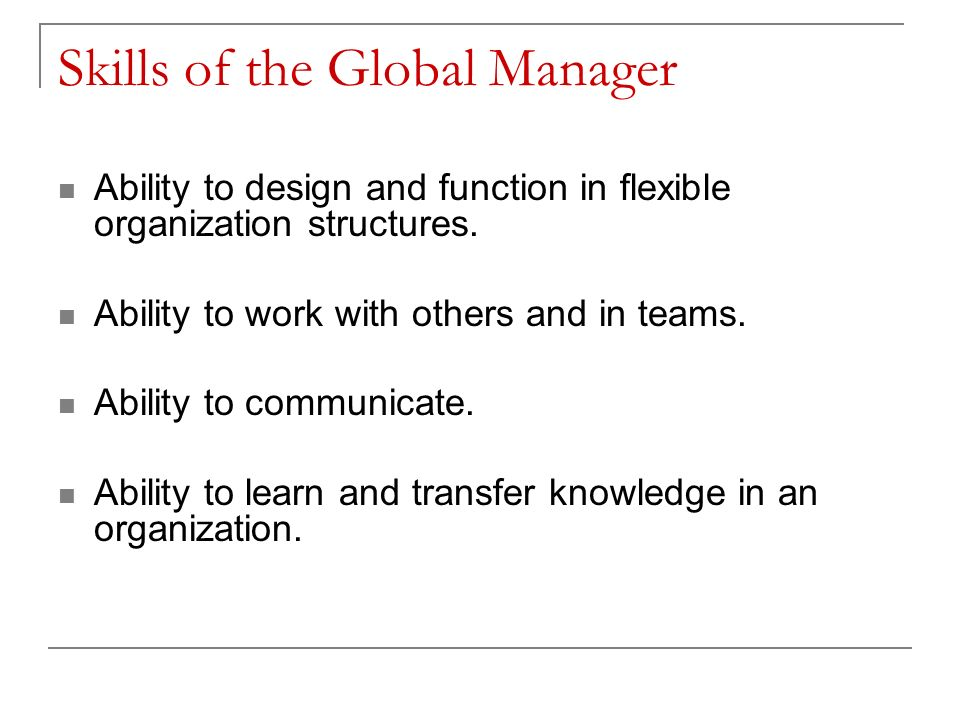 function of manager in an organization