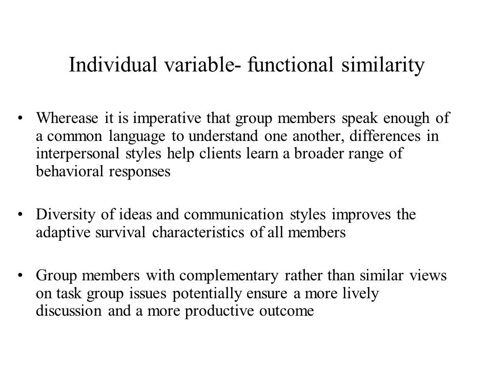 how does group communication differ from individual communication
