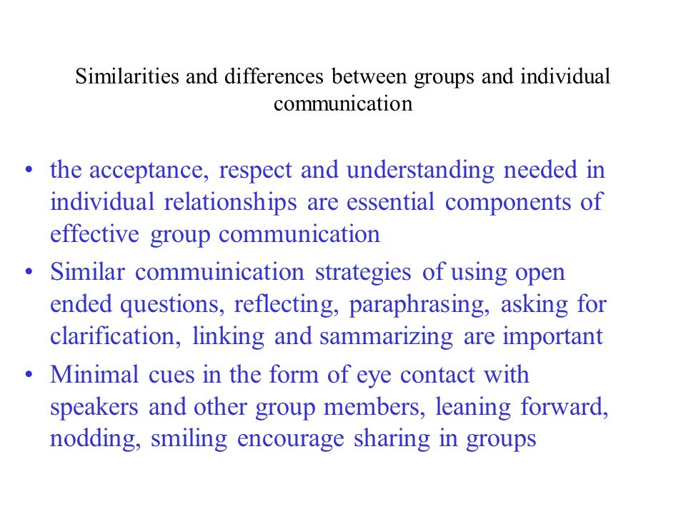 small group vs interpersonal communication