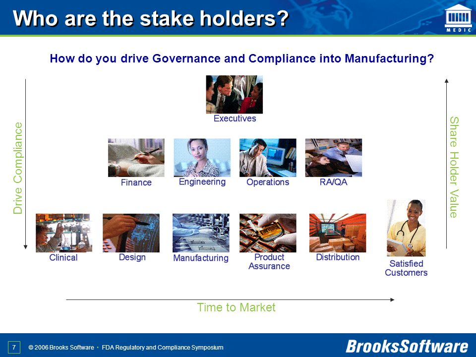 Who are the stake holders