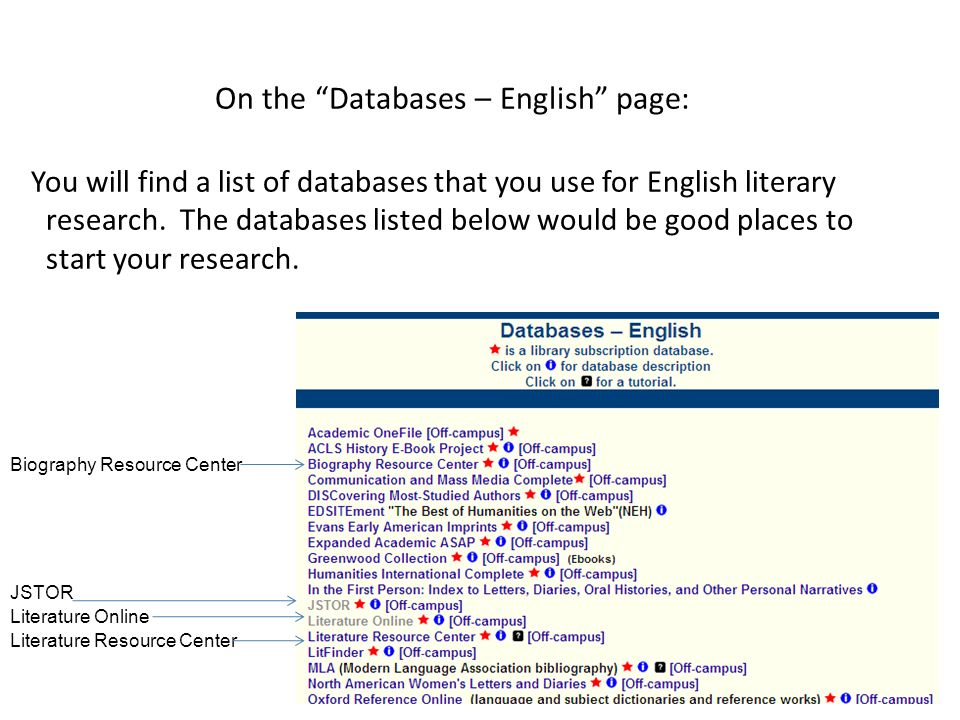 Finding Articles in a C-N Database - ppt video online download