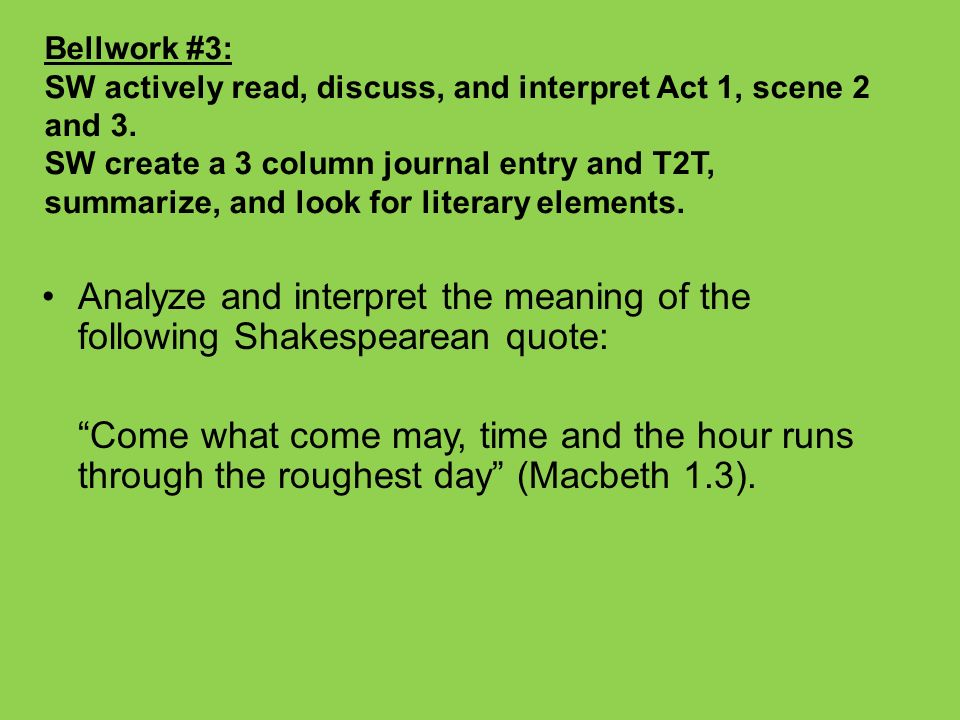 what inspired shakespeare to write macbeth