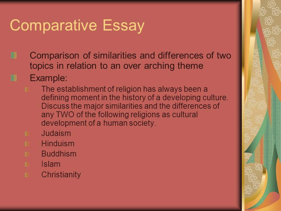 thematic essay hinduism buddhism