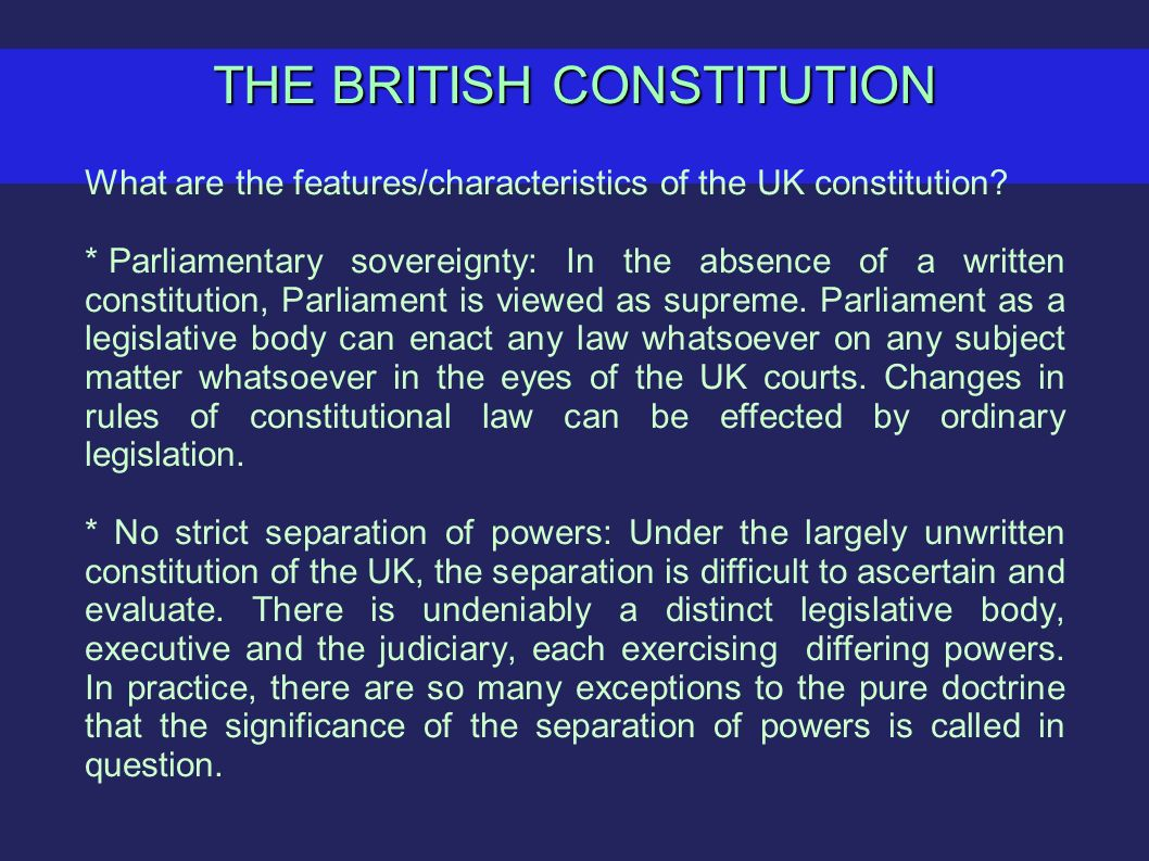 unwritten constitution uk