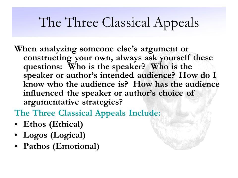 three rhetorical devices