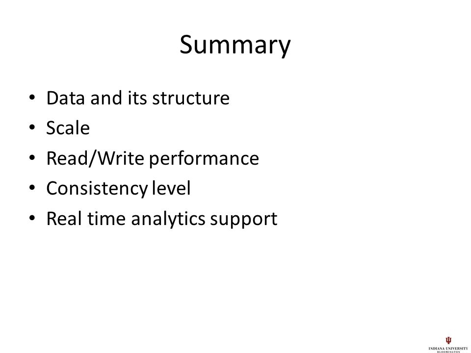 Study Of Mapreduce For Data Intensive Applications Nosql