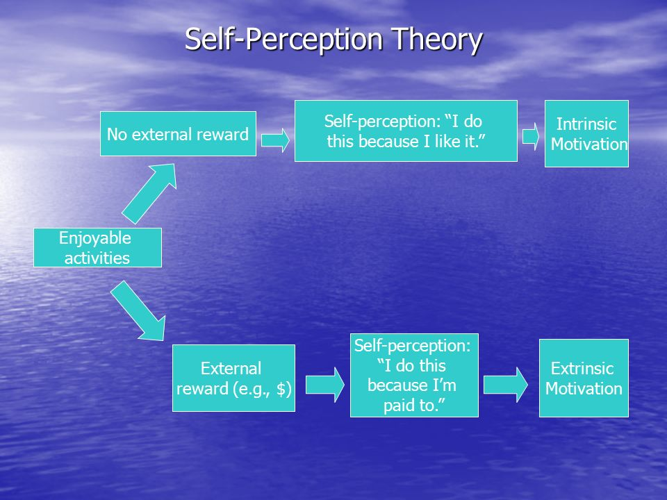 7 self perception theory