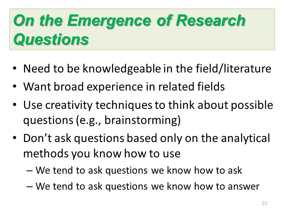 how to ask good research questions