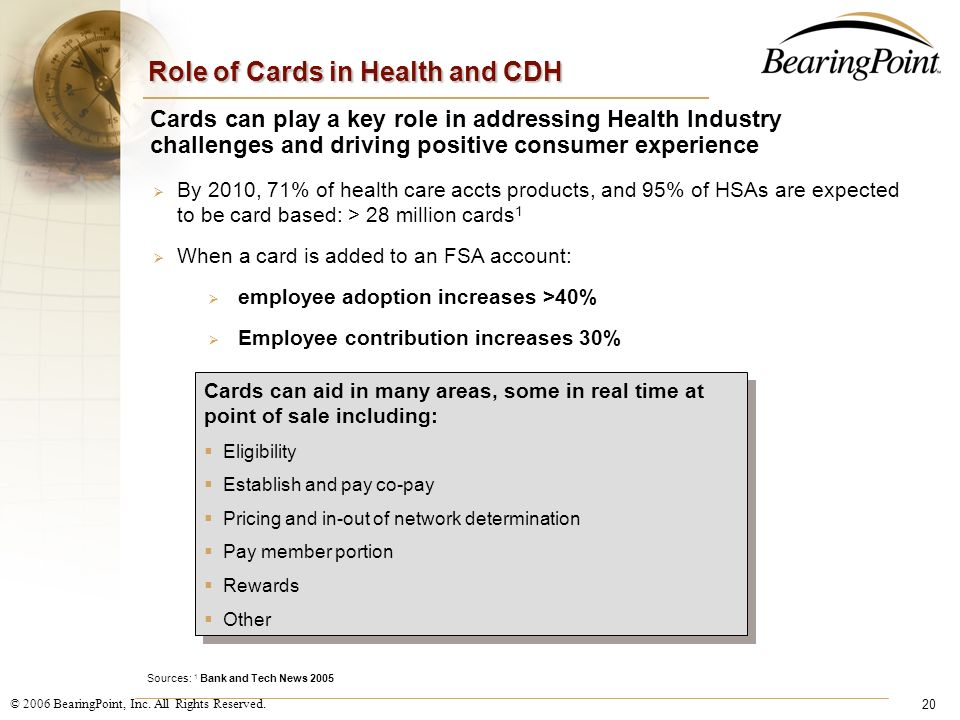 Role of Cards in Health and CDH
