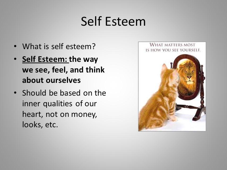 Self Esteem معنى