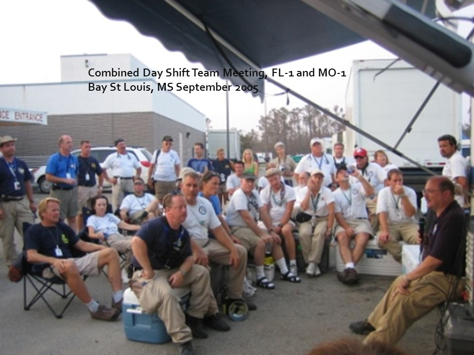 Combined Day Shift Team Meeting, FL-1 and MO-1