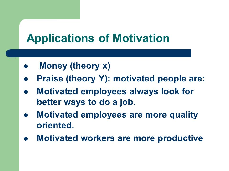 theories of motivation pdf