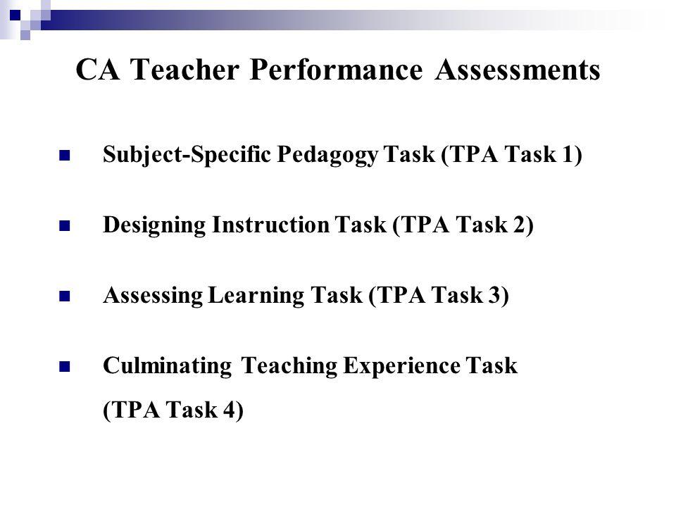 Ca Teacher Performance Assessments Orientation Ppt Video Online Download