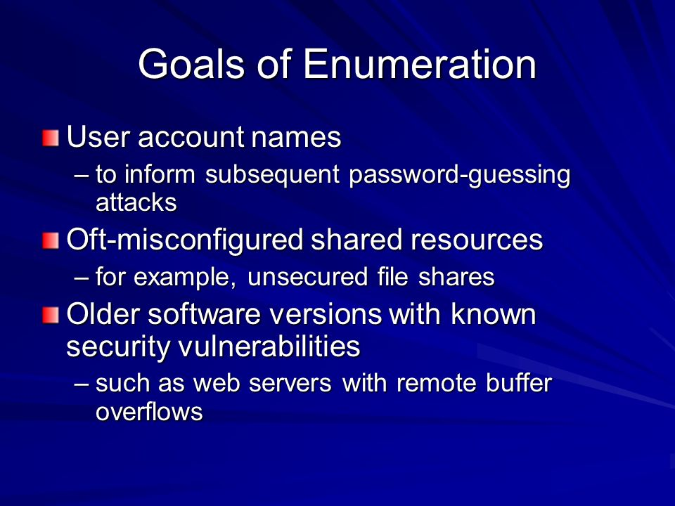 Chapter 3 Enumeration Last modified ppt video online download