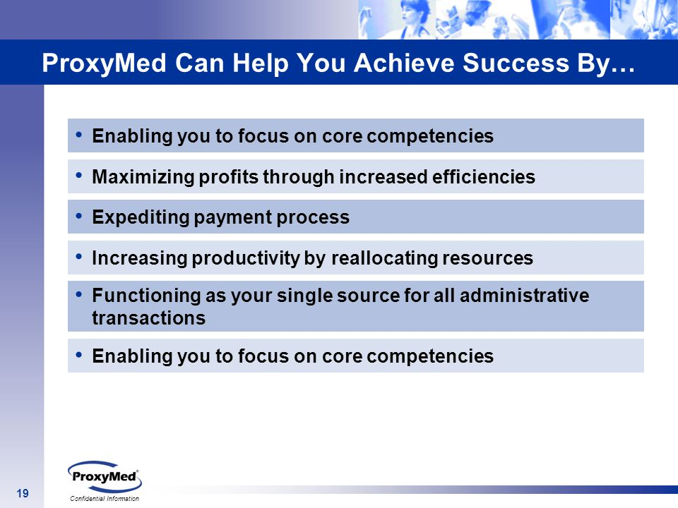 ProxyMed Can Help You Achieve Success By…