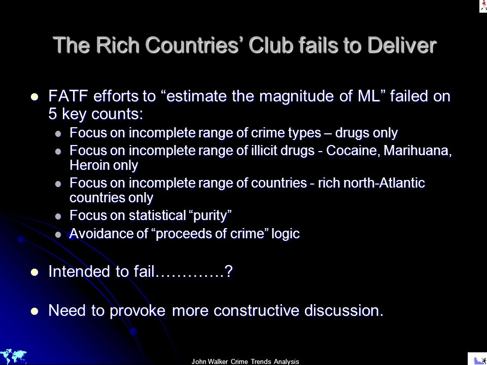 The Rich Countries' Club fails to Deliver