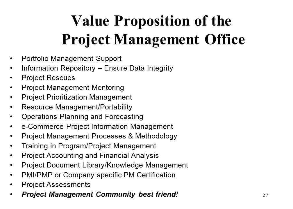 Growing The Business The Value Proposition Of Project Managers
