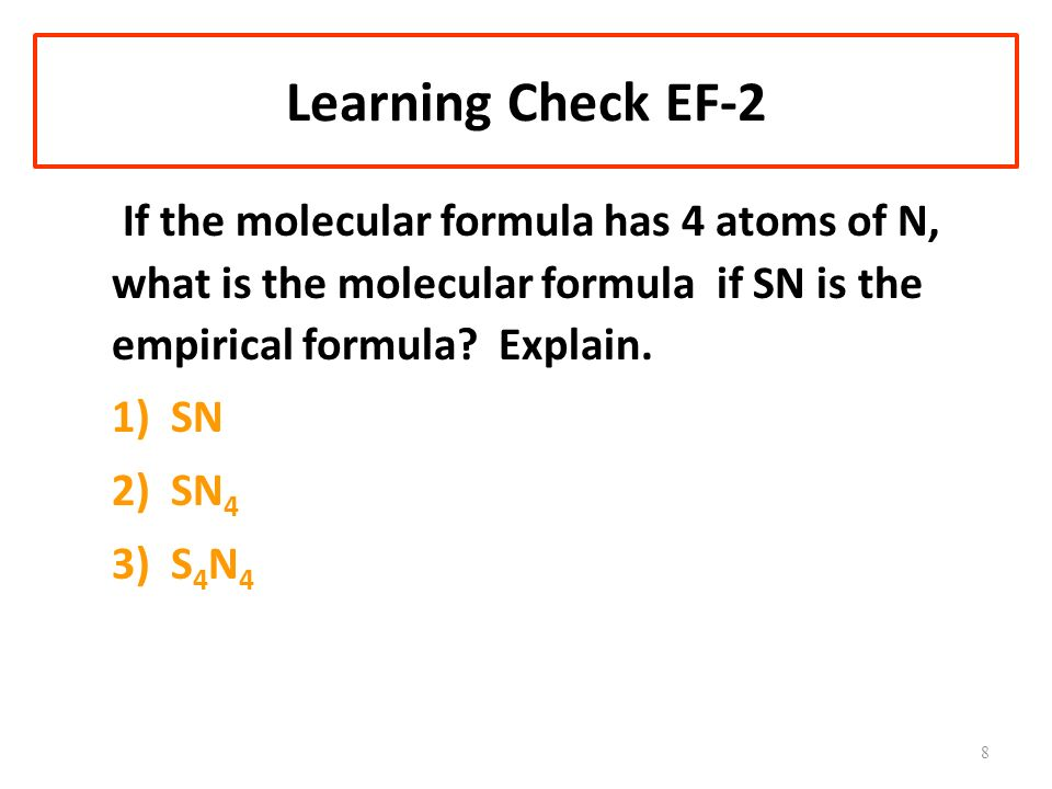 Learning Check EF-2