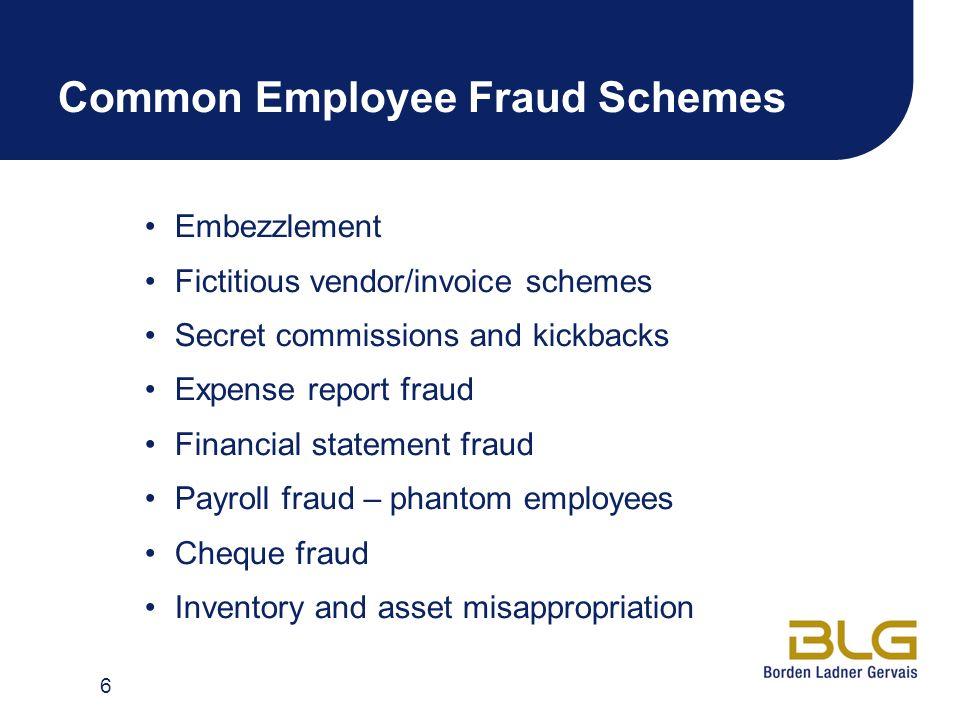 Employee Fraud Detection Investigation And Response Acfe Toronto