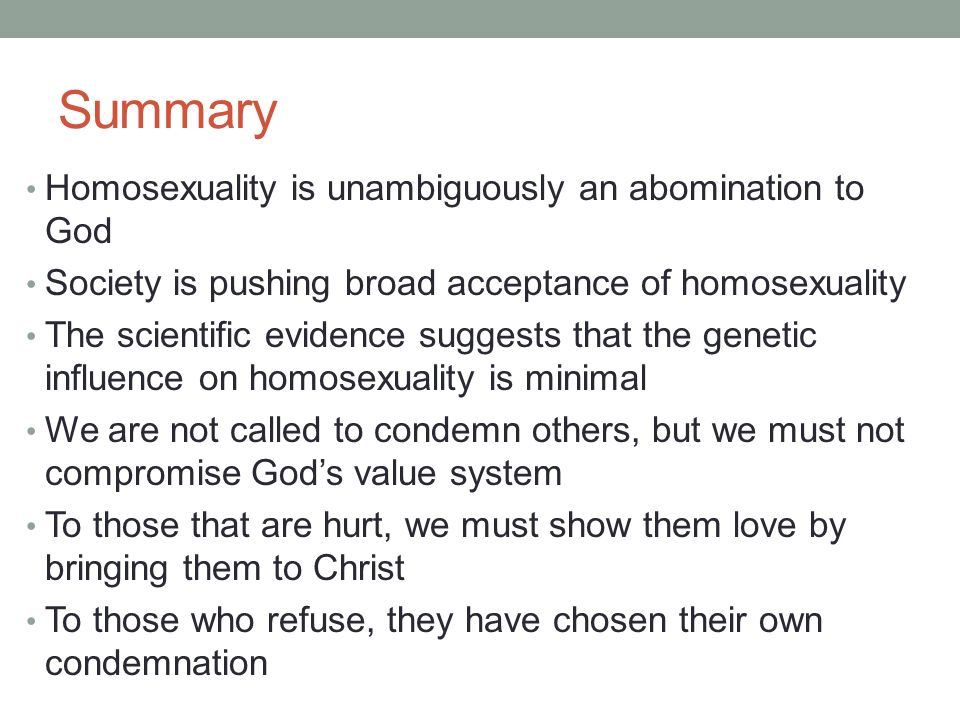 Sociopathic personality disturbance homosexuality and christianity
