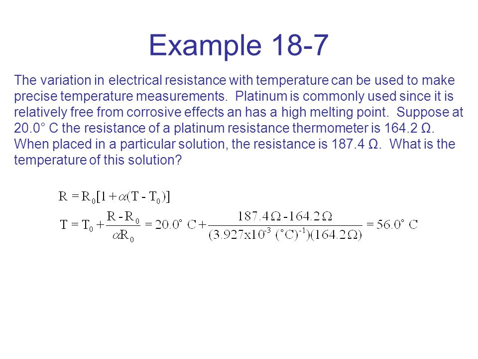 Chapter 18 Electric Currents  - ppt download