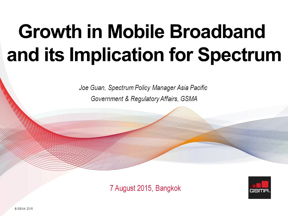 Growth in Mobile Broadband and its Implication for Spectrum