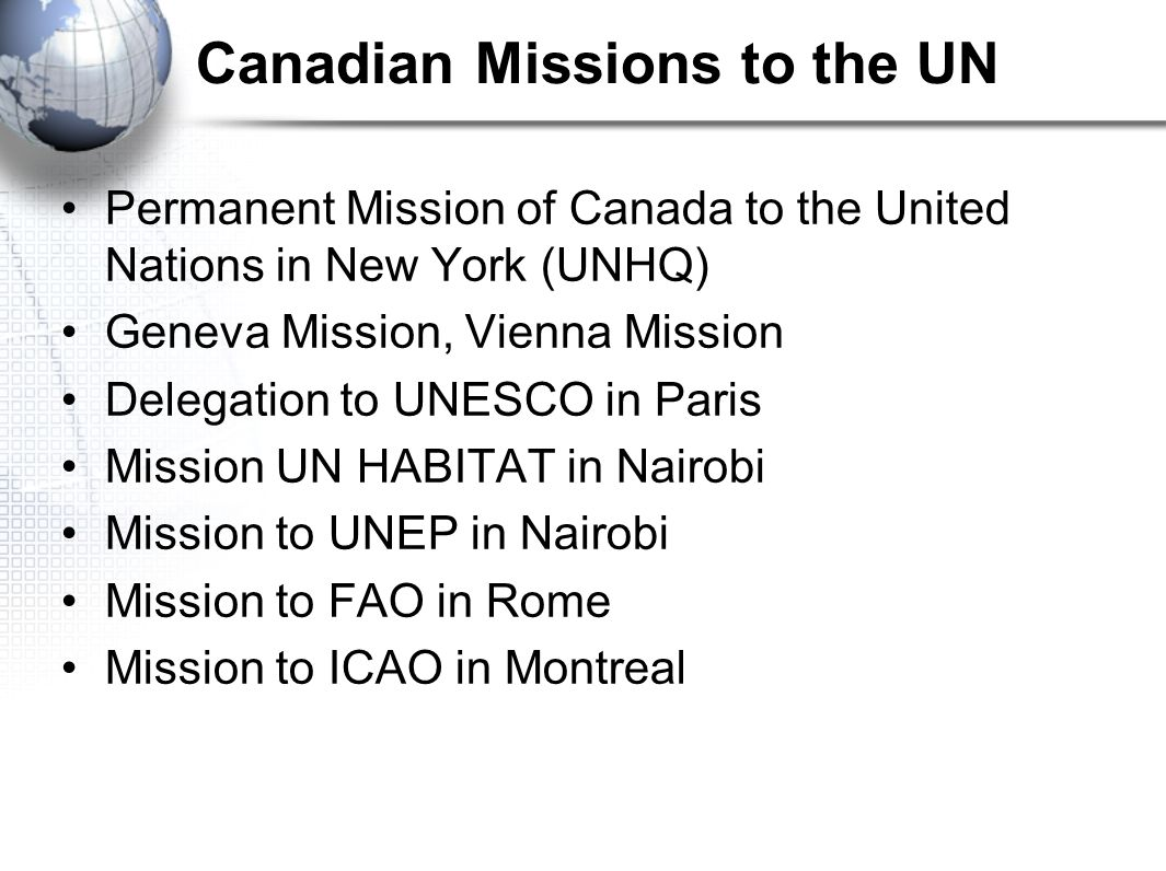 Image result for The Permanent Mission of Canada to the United Nations in New York
