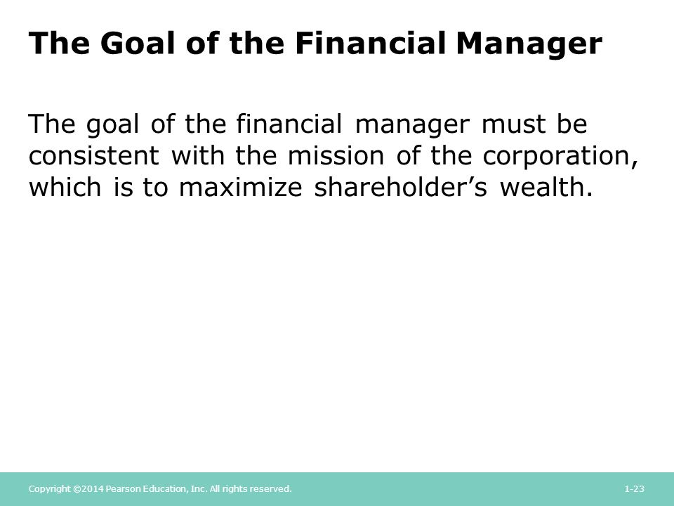 how financial manager maximize shareholder wealth