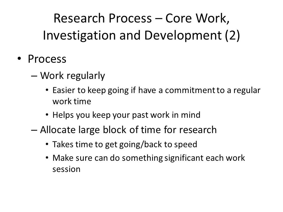 research process in research methodology pdf