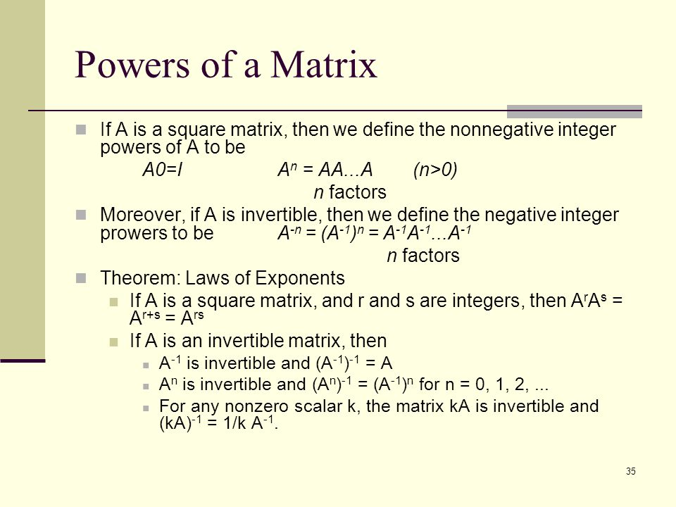 how to tell is a matrix is invertible